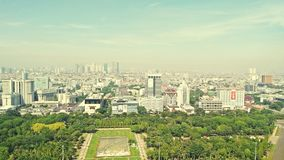 Monas. View from monas royalty free stock photography