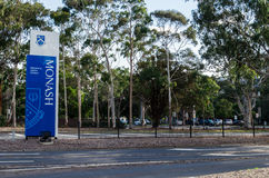Monash University in Clayton Stock Photo