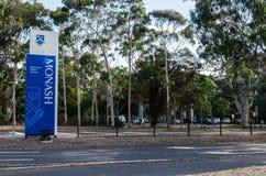 Monash University in Clayton stock photo
