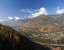 Monashee mountains Stock Photography