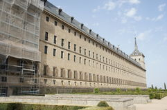 Monastère à Madrid Images libres de droits