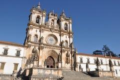 Monastère Alcobaca Portugal de pélerinage images libres de droits