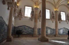 Monastère Alcobaco Portugal de pélerinage photographie stock libre de droits
