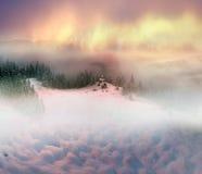 Monastère alpin solitaire Photographie stock libre de droits