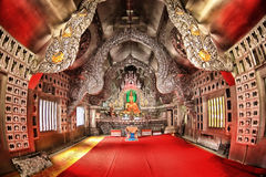 Monastère argenté dans le srisuphan de Wat, Chiang Mai Photographie stock libre de droits