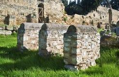Monastère Athènes antique Grèce de Daphni Image libre de droits