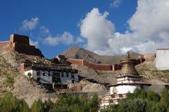Monastère au Thibet Photos stock