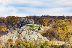 Monastère aux montagnes d'ours Photo libre de droits