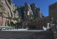Monastère bénédictin chez Montserrat Photos libres de droits