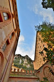 Monastère bénédictin de Montserrat (Monasterio De Montserrat) Photo stock