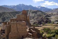 Monastère, Basgo, Ladakh, Inde Photo stock