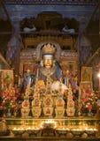 Monastère Bouddha de Baiqoi Photos libres de droits