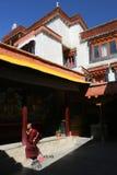 Monastère bouddhiste Images stock