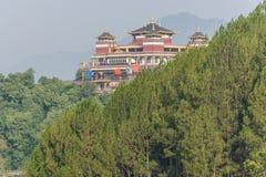 Monastère bouddhiste de Fulauri à Katmandou Népal Images stock