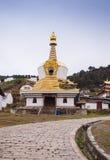 Monastère bouddhiste tibétain en Chine Photos libres de droits