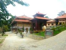 Monastère bouddhiste Truc Lam Dalat image stock