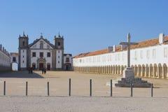 Monastère Cabo Espichel, Sesimbra, Portugal de personnes Photo stock