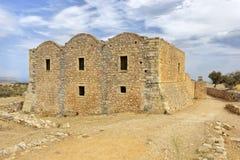 Monastère chez Aptera en Crète photos libres de droits