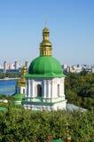 Monastère chrétien orthodoxe, Pechersk Lavra à Kiev images libres de droits