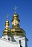 Monastère chrétien orthodoxe, Pechersk Lavra à Kiev image stock