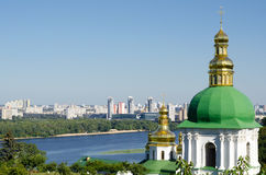 Monastère chrétien orthodoxe, Pechersk Lavra à Kiev photos stock