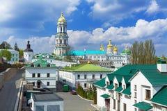 Monastère chrétien orthodoxe, Pechersk Lavra à Kiev, monastère des cavernes, Ukraine photographie stock