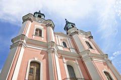 Monastère cistercien dans Goscikowo, Pologne. Images stock