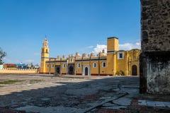 Monastère Convento De San Gabriel - Cholula, Puebla, Mexique de Gabriel Archangel de saint photo stock
