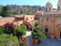 Monastère d'Agia Triada images stock