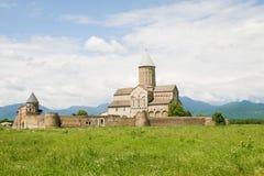 Monastère d'Alaverdi dans la région de Kakheti en Géorgie orientale Photos stock