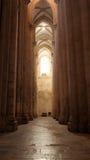 Monastère d'Alcobaça, Alcobaça, Portugal Image libre de droits