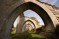 Monastère d'Alvastra, Suède images stock