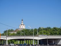 Monastère d'Andronievsky photos stock