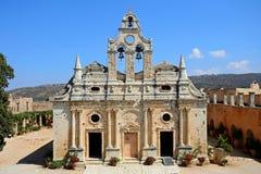 Monastère d'Arkadi, Crète Images stock