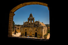 Monastère d'Arkadi, Creta, Grèce Photo libre de droits