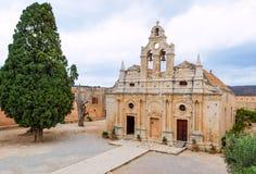 Monastère d'Arkadia en Crète Images stock