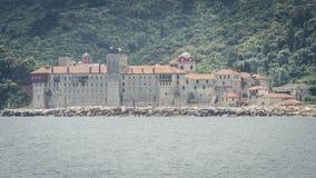 Monastère d'Esphigmenou - Mounth Athos Greece Photos stock