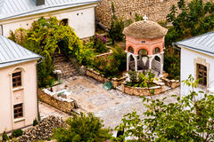 Monastère d'hypothèse des cavernes, chapelle de Gethsemane Photos stock