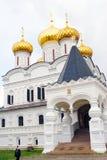 Monastère d'Ipatyevsky dans Kostroma, Russie Photo libre de droits