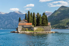 Monastère d'isolement St George d'île image libre de droits