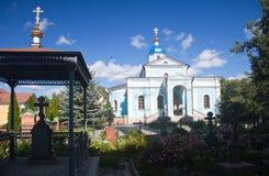 Monastère d'Optina Pustyn Images stock