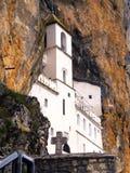 Monastère d'Ostrog Photos stock