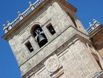 Monastère d'Ucles dans la province de Cuenca, Espagne Photographie stock libre de droits