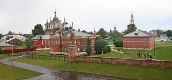 Monastère d'Uspensky Brusensky dans le Kolomna Kremlin Photographie stock libre de droits