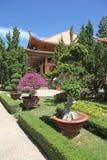 Monastère Dalat Vietnam Photographie stock