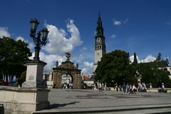 Monastère dans Czestochowa Image libre de droits