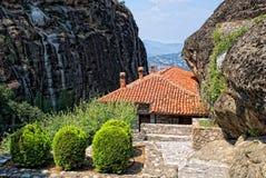 Monastère dans le Meteora Photo stock
