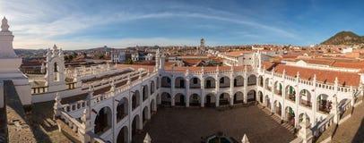 Monastère dans le sucre, Bolivie Photographie stock