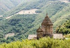 Monastère dans les montagnes Image stock