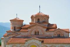 Monastère dans Ohrid Photos libres de droits